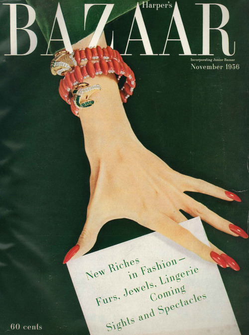 Harper's Bazaar November 1956 The Nifty Fifties