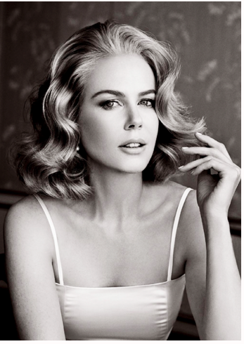 Gorgeous picture of Nicole Kidman but that hair!