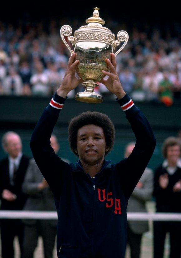 Arthur Ashe 1966 Champions of Style