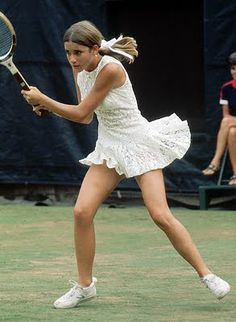 Chris Evert 1975