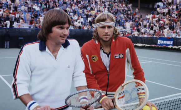 Jimmy Conners Bjorn Borg 1978