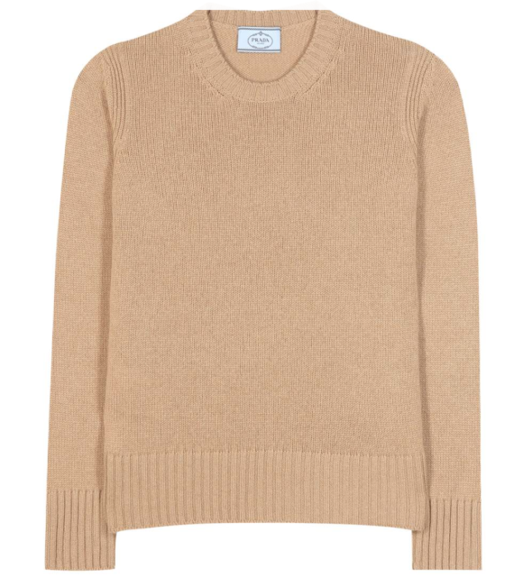 My Theresa This Prada cashmere sweater is pricey but an investment piece you'll never regret.