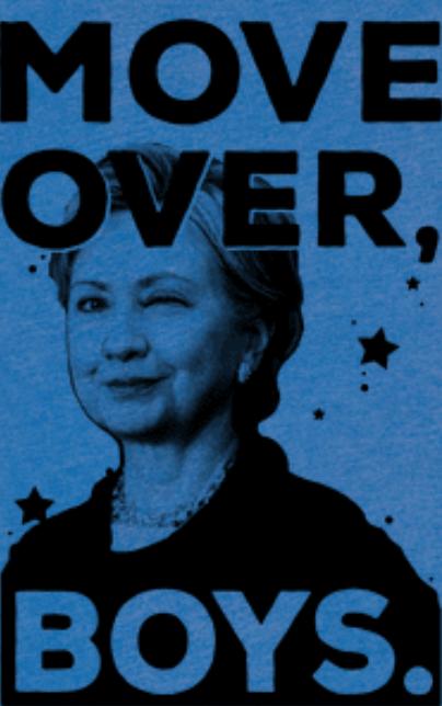 Hillary Clinton Tee look human.com