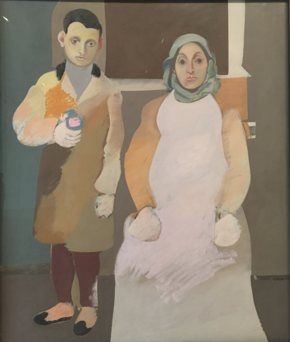 Arshile Gorky and his Mother