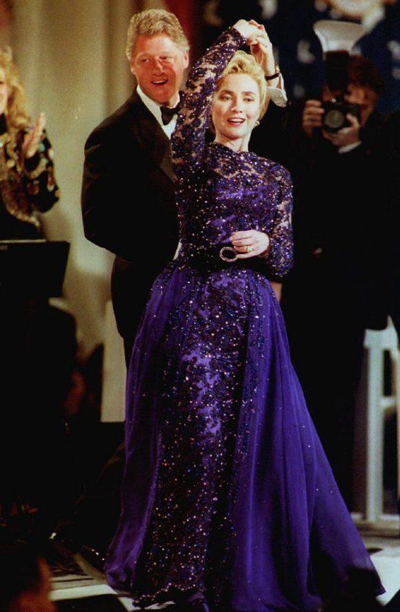 Dancing at the Inaugural Ball January 1993