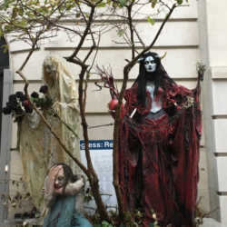 Halloween Decorations On the Upper East Side