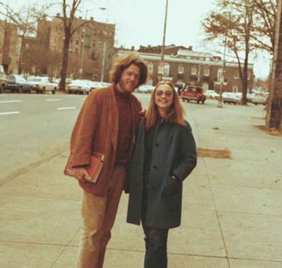 Hillary and Bill Clinton met as students at Yale Law School