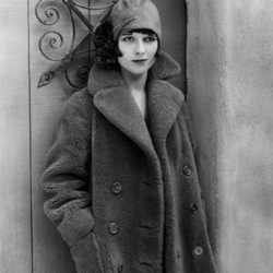 Louise Brooks and That Coat