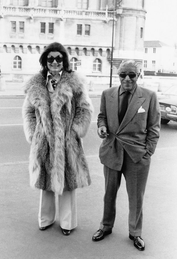 Mr. and Mrs. Onassis in France, 1970 Getty images vogue.com