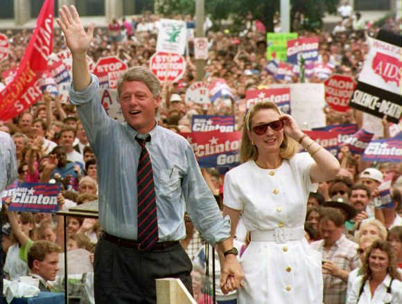 Campaigning with Bill 1992