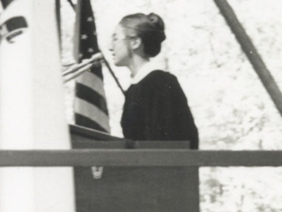 Hillary's controversial commencement speech, Wellesley College 1969.
