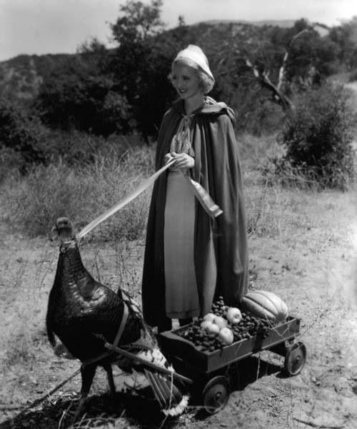 Bette Davis and friend