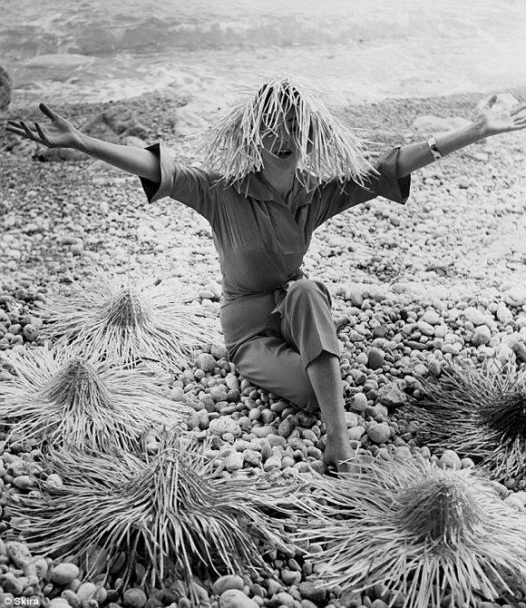 Ivy Nicholson in Pucci, Capri 1950s