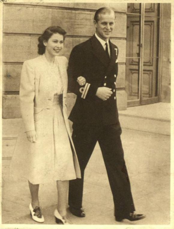 Princess Elizabeth engaged to Philip Mountbatten, Life Magazine