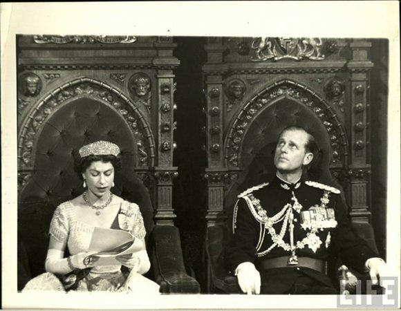 Queen Elizabeth and Phillip Life