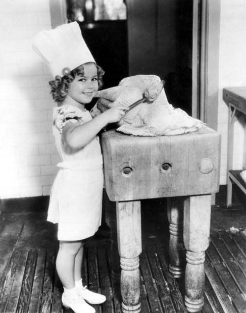 Shirley Temple Thanksgiving