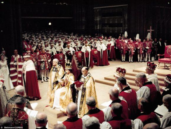 the coronation of Elizabeth the II June 2,1953