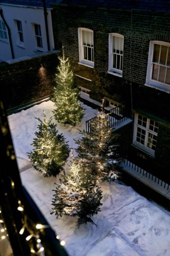 Anders Schonnemann, It's fake snow!