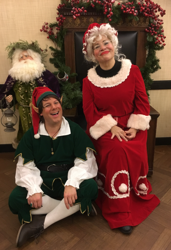 And for the kids, you can see Santa anywhere but only at BG can you have a nice one on one with Mrs. Clause. She's a sharp wit and certainly not in Santas' shadow.