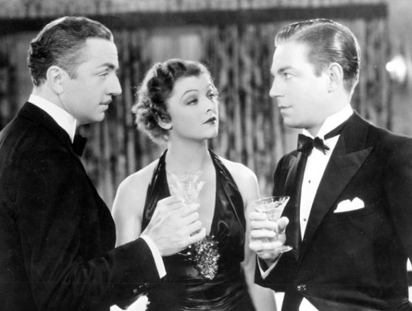 Myrna Loy and William Powell in The Thin Man series Cocktails Prima Darling