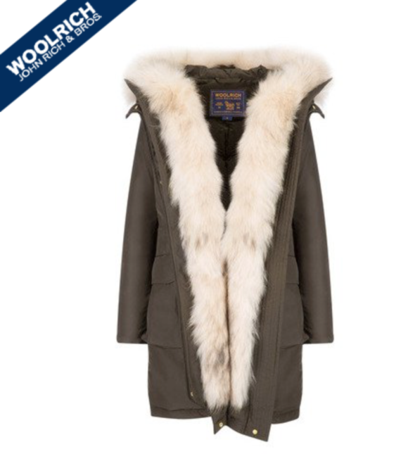 Woolwich military down parka