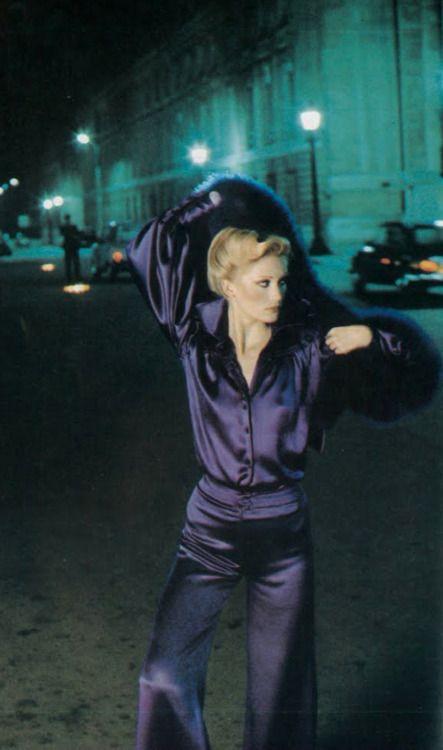 Anna Anderson Helmut Newton 1974