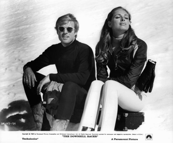 Camilla Sparv and Robert Redford