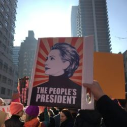 Women's March New York; The Day In Pictures