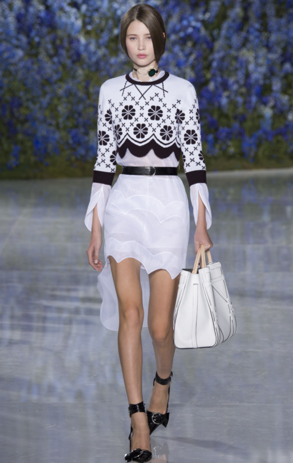 Christian Dior Spring '16 and top photo