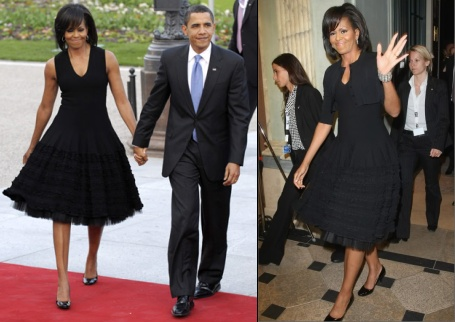 Michelle Obama in Azzedine Alaia, Prima Darling