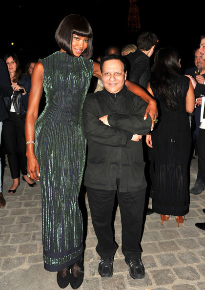 Azzedine Alaia With Naomi Cambell Prima Darling