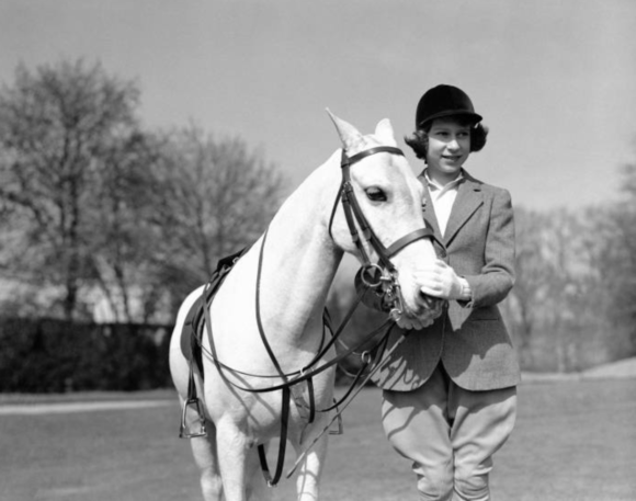 The Queen has always loved horses.
