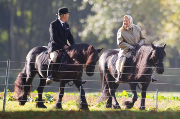 The Queen's passion for horses has been a constant throughout her life.
