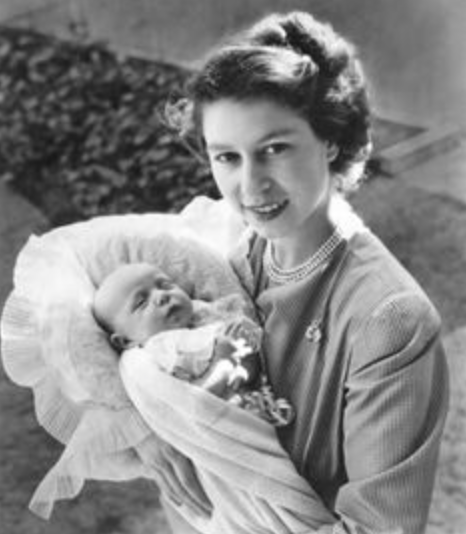 With Princess Anne August 1950