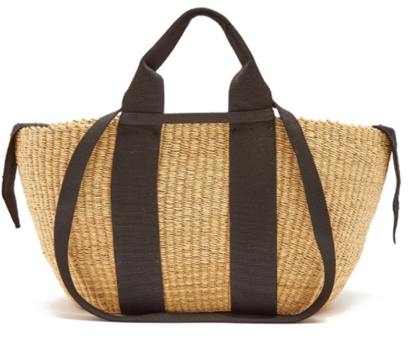 Muun George woven-straw tote matchesfashion.com