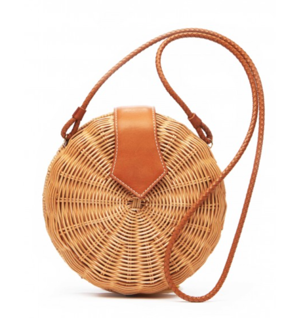 Romina Wicker Crossbody Bag jmclaughlin.com