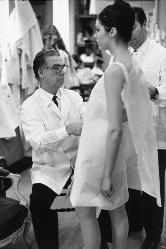 Balenciaga at work 1968