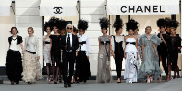 Karl Lagerfeld of Chanel, one of the few to enjoy a long career.