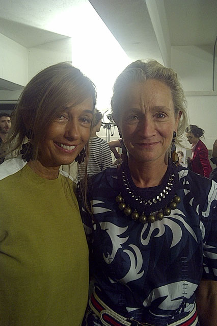 Lucinda Chamber and Consuelo Castiglioni, style over forty Prima Darling