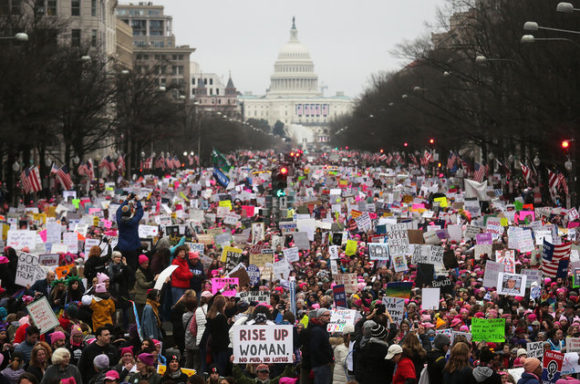 Women's March on Washington Jan 21st 2017