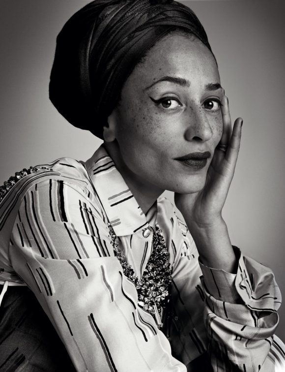 Zadie Smith photo Vogue.com