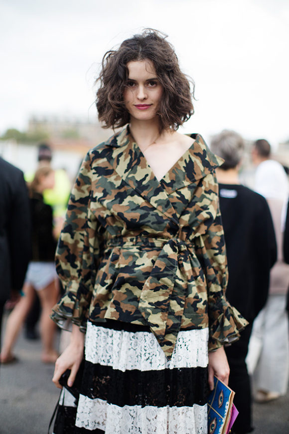 Camouflage The Sartorialist