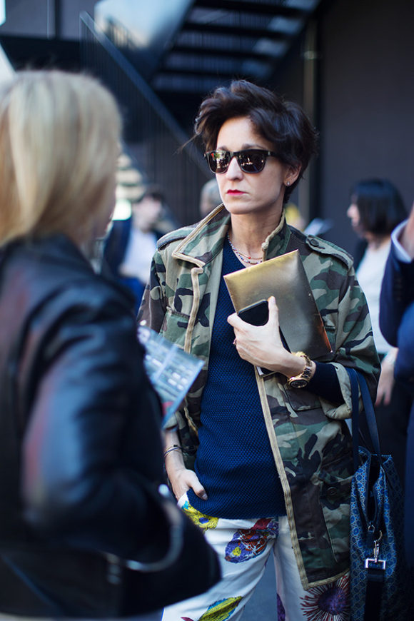 Camouflage The Sartorialist Prima Darling