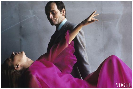 Jeanne Moreau, Pierre Cardin Vogue 1961