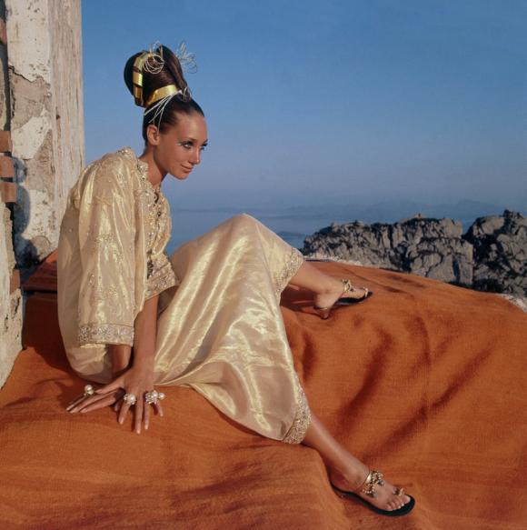 Marisa Berenson Kaftan Vogue