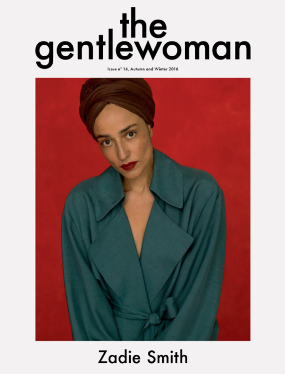 Zadie Smith The Gentlewoman