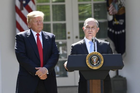 Trump with Scott Pruitt