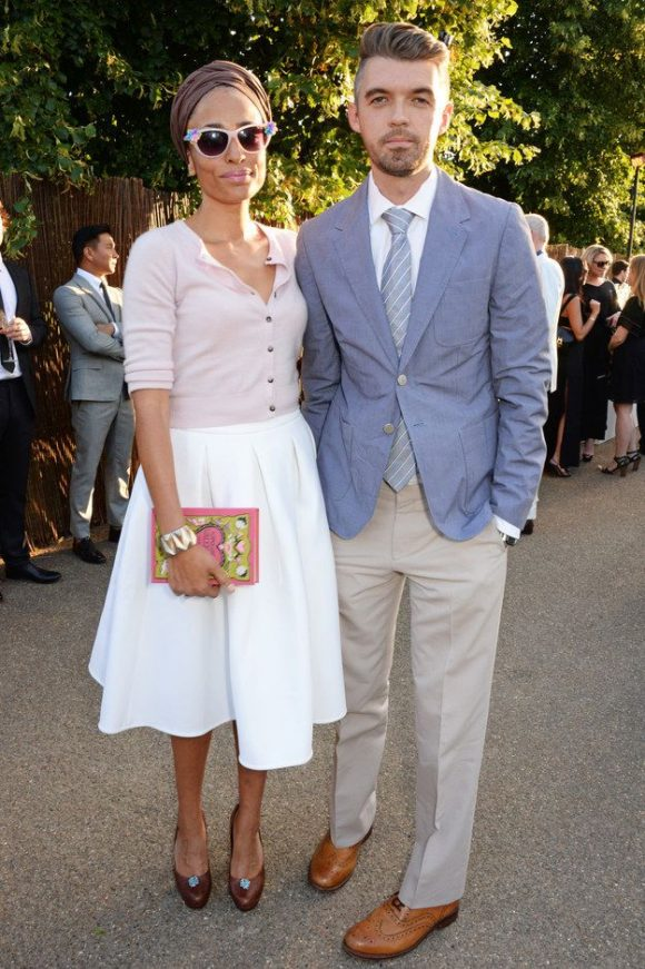Zadie Smith with Husband Nick Laird