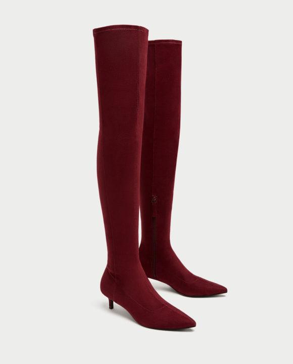 Zara sock boots, Prima Darling