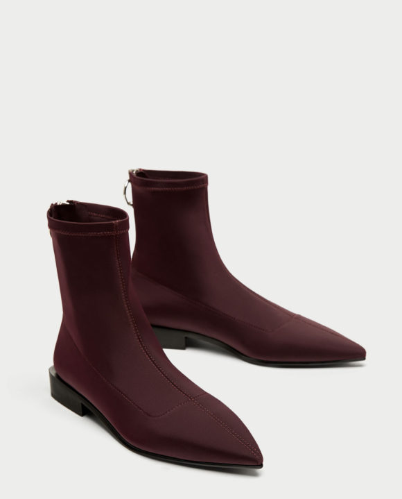 Zara flat boot Prima Darling